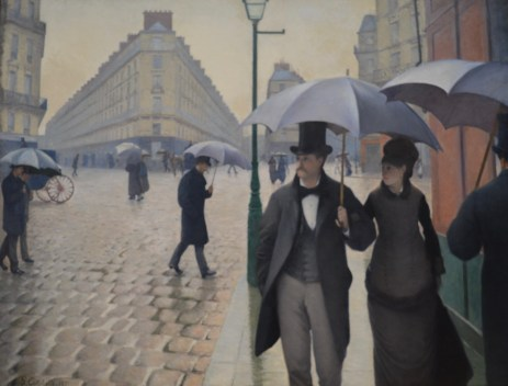 Paris Street; Rainy Day — Gustave Caillebotte