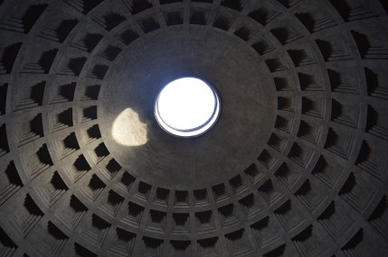The dome of the Pantheon