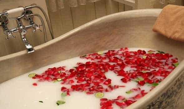 حمام دافىء يخلصك من الحزن