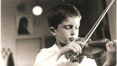 Tedi Papavrami në moshën 7 vjeç