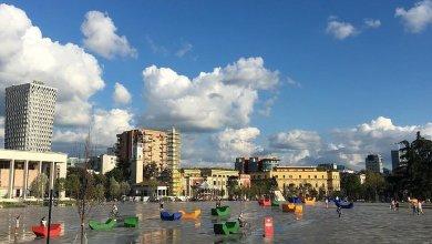 Sheshi Skënderbej, Tiranë, Shqipëri