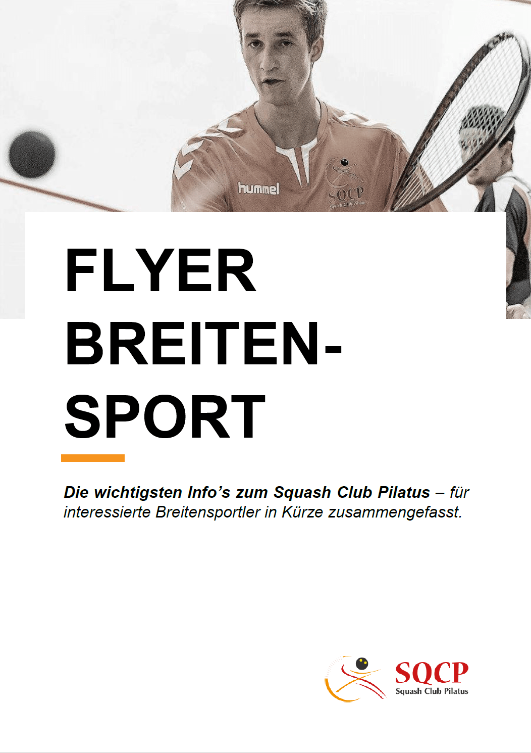 Flyer Breitensport