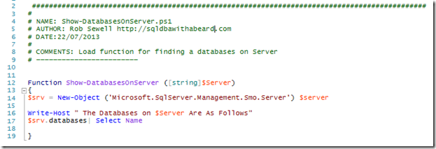 List Databases (and Properties) on SQL Server with