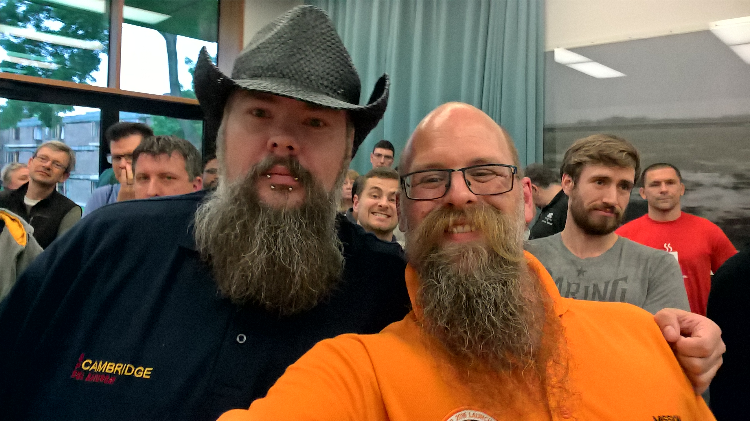 Two great beards its SQL WareWolf