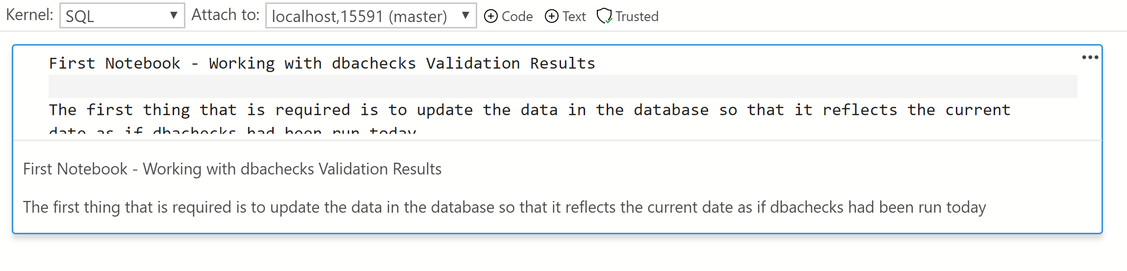 Whats a SQL Notebook in Azure Data Studio? | SQL DBA with A