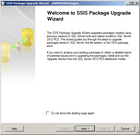 Upgrade 2005/2008 SSIS Packages to 2012 Like a Boss!   Data and