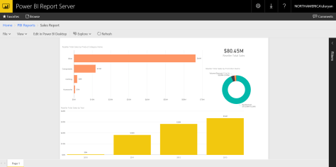 Setting up the Power BI Report Server Preview | Data and
