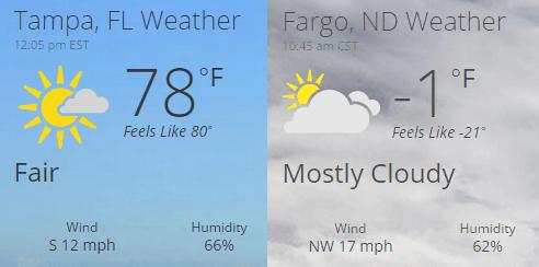SQL Consultant braves Fargo weather