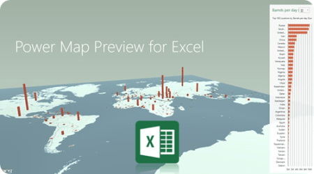 Power Map Preview     Exploring the NEW features      Some Random Thoughts Power Map Preview     Exploring the NEW features