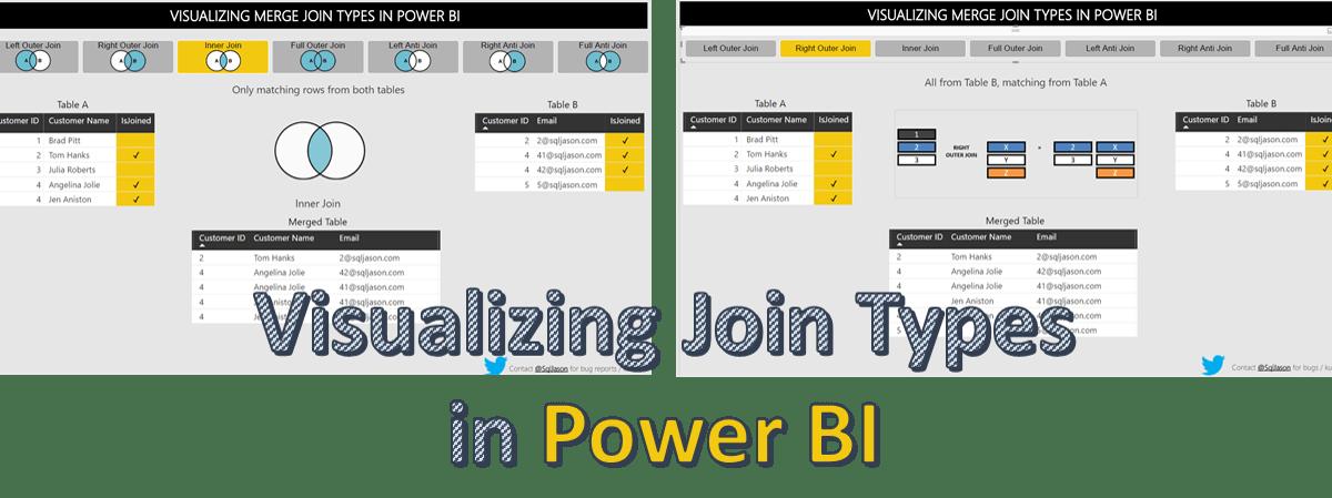 Visualizing Joins in Power BI using Venn diagrams and Join Diagrams