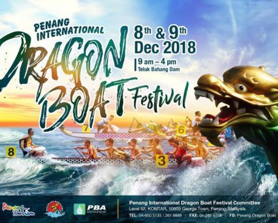 39th Penang International Dragon Boat Festival 2018
