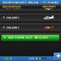 pocketplanes add slot