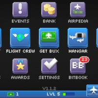 pocketplanes menu