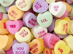Image result for valentine day candy hearts