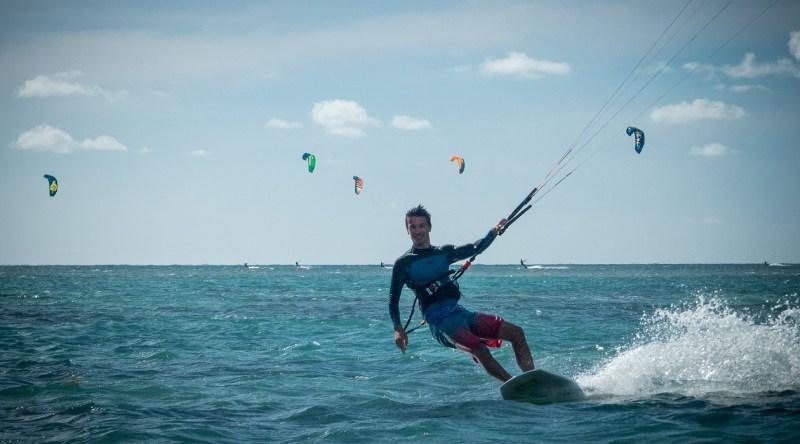Guillaume surfkite martinique