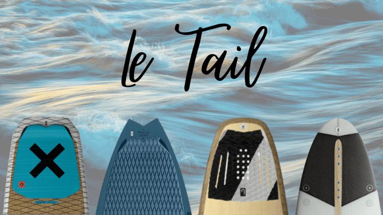 tail surf strapless kite
