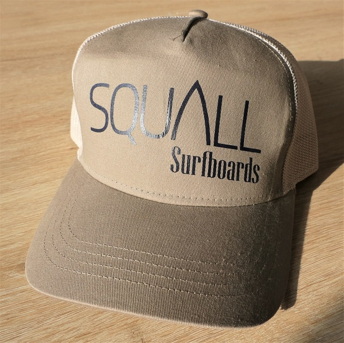 casquette squall sable courbe