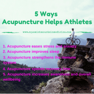5 Ways Acupuncture Helps Athletes