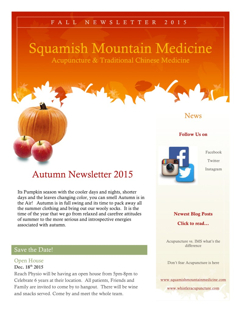 fall newsletter 2015 page 1