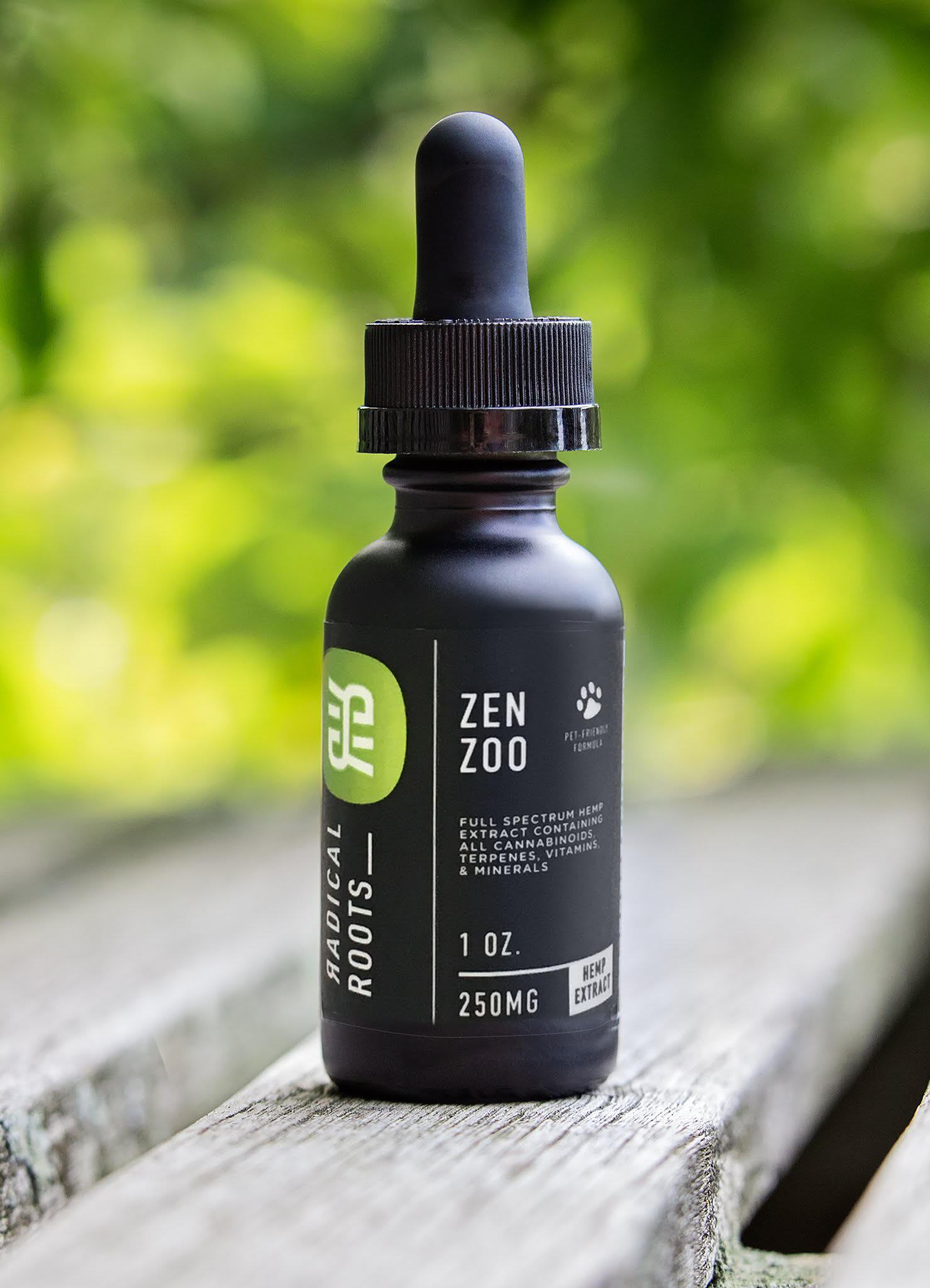 Radical Roots Zen Zoo CBD Oil for Pets