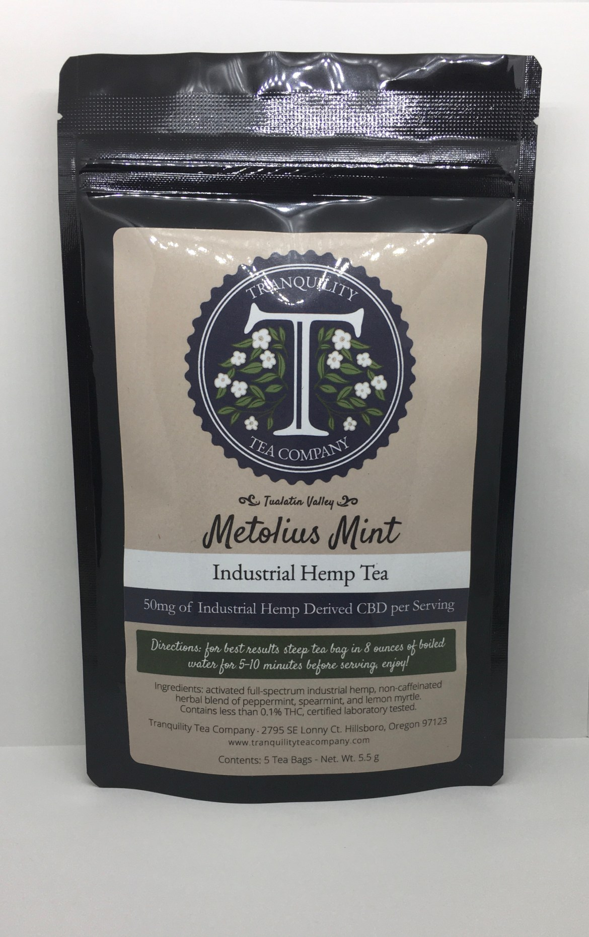 Tranquility Tea Company Metolius Mint