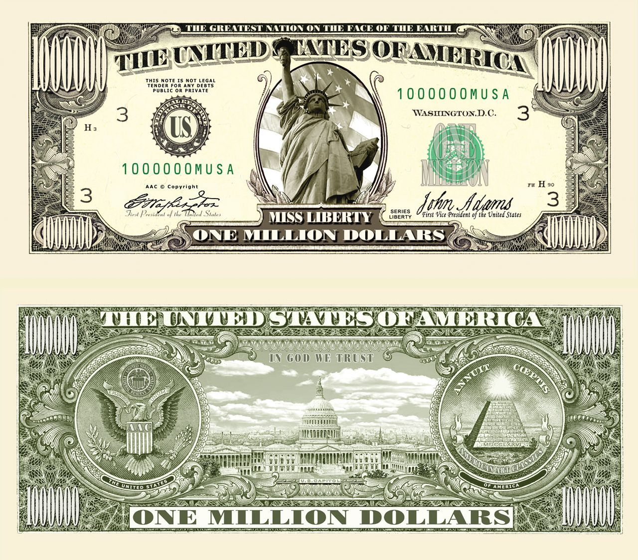 Presidents Dollar Bills Worksheet