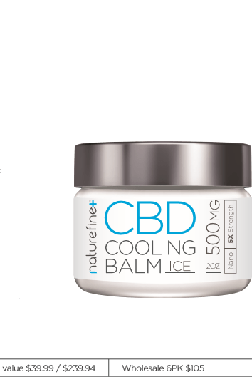 Naturefine+ CBD Cooling Balm