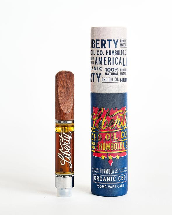 Gelato - Liberty 750mg Full Spectrum CBD Vape Cartridge