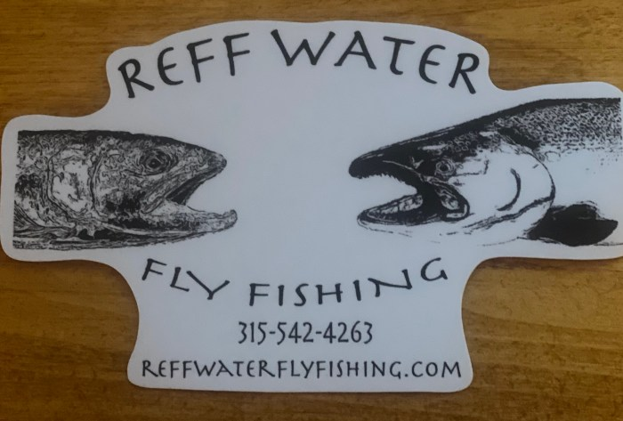 Reff Water Sticker