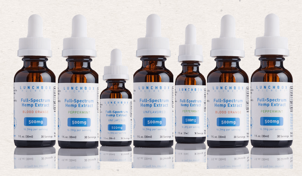 Full Spectrum Hemp Extract 500mg