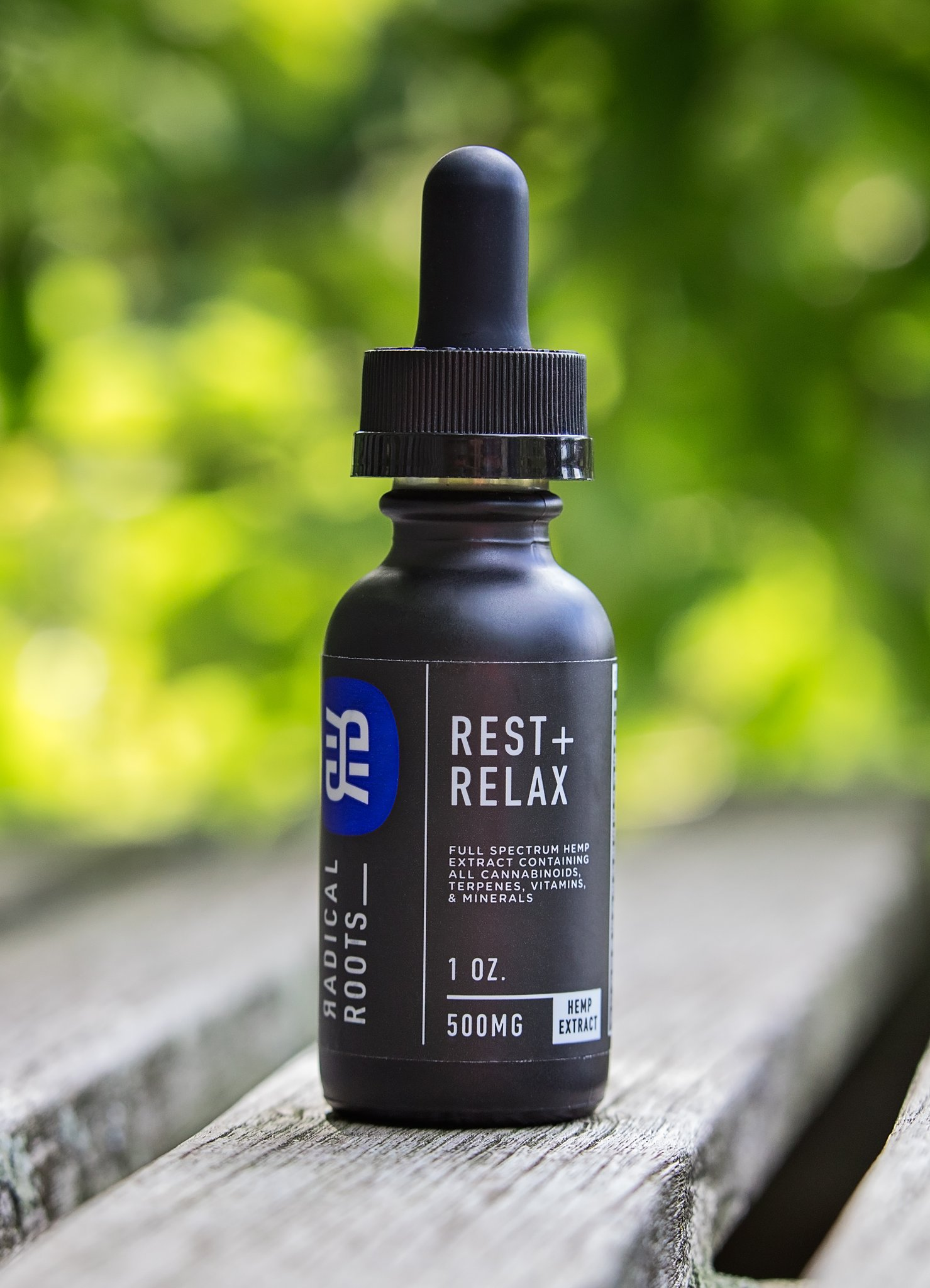 Radical Roots Rest + Relax 500mg CBD