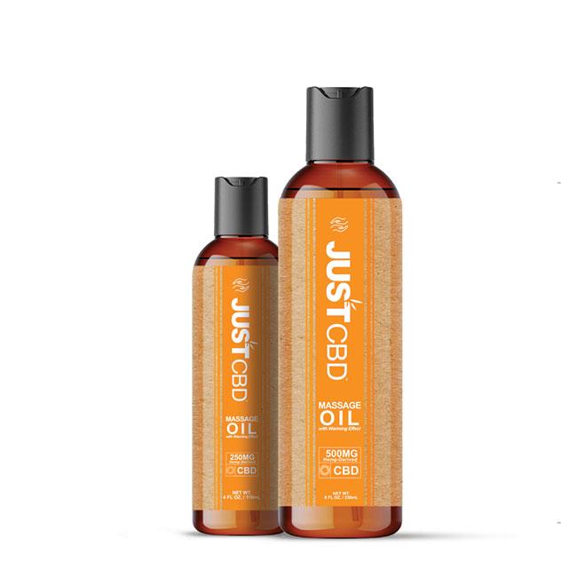 Just CBD Massage Oil 250mg or 500mg