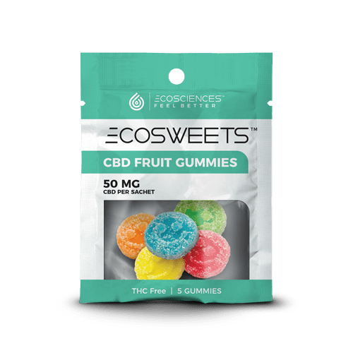 EcoScience EcoSweets 5pc 10mg - 50mg pouch