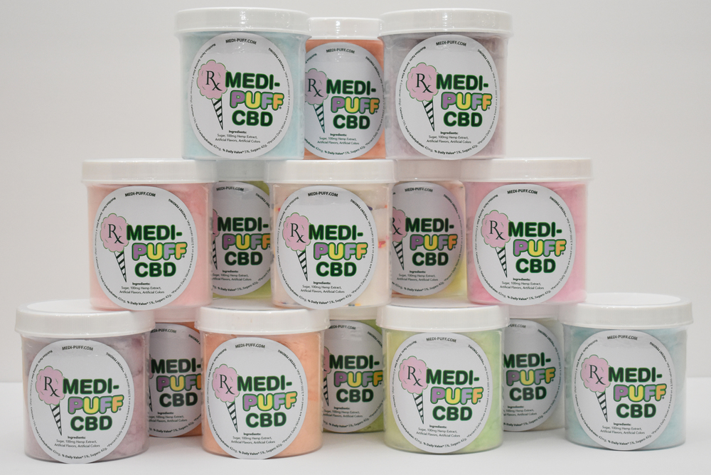 Medi Puff CBD Cotton Candy
