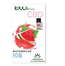 Zilla Pods 300mg Watermelon Ice
