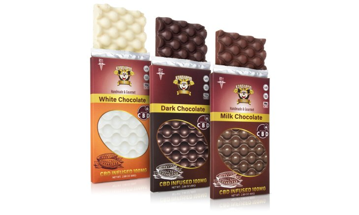Kangaroo CBD Chocolate Bars 100MG