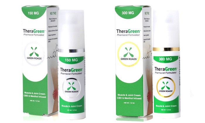 GreenRoads TheraGreen CBD Pain Cream