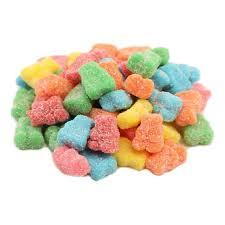 CBD Neon Gummy bears