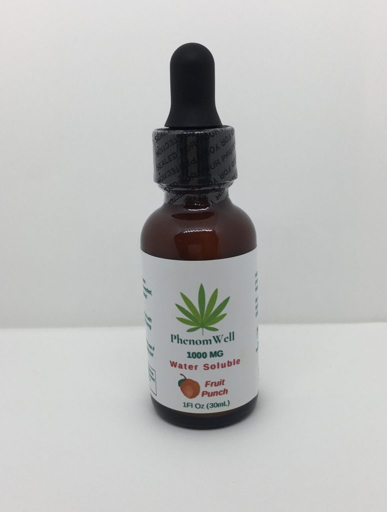 Chllax 1000mg Tropical Water Soluble Nano