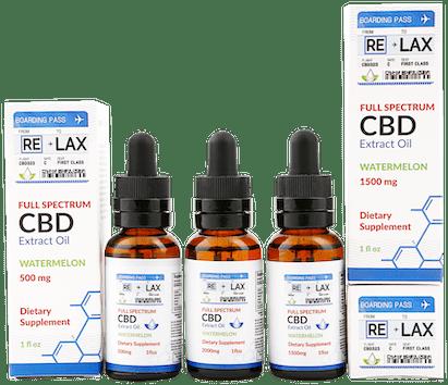 RE-LAX CBD Oil – Watermelon