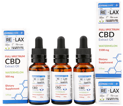 RE-LAX CBD Oil – Watermelon