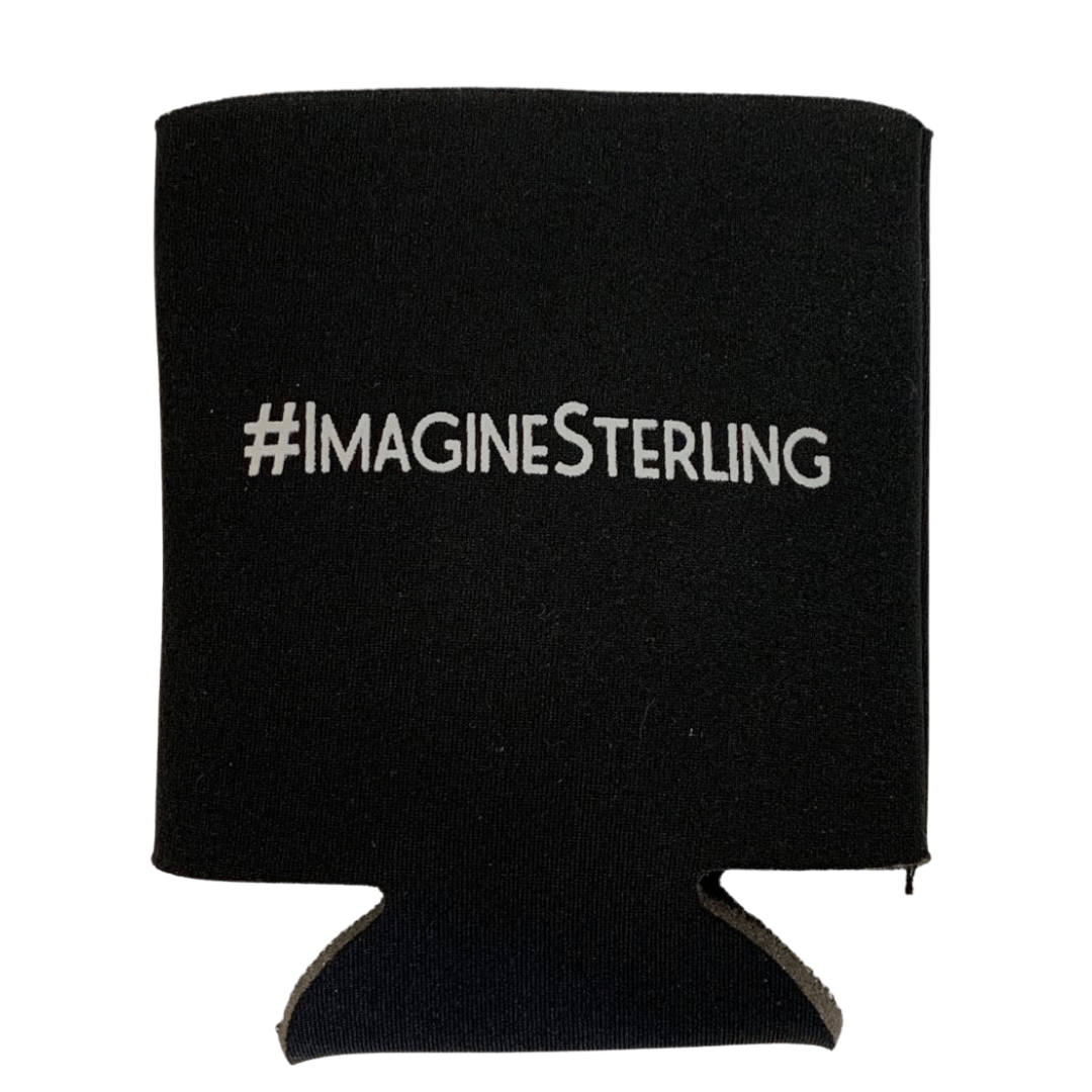 #Imagine Sterling Can Koozie