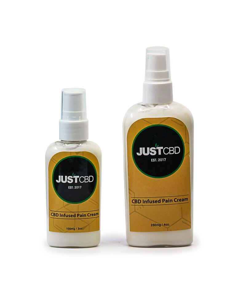 JUSTCBD Pain Cream Lotion