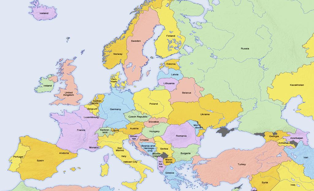 Square Block - Europe