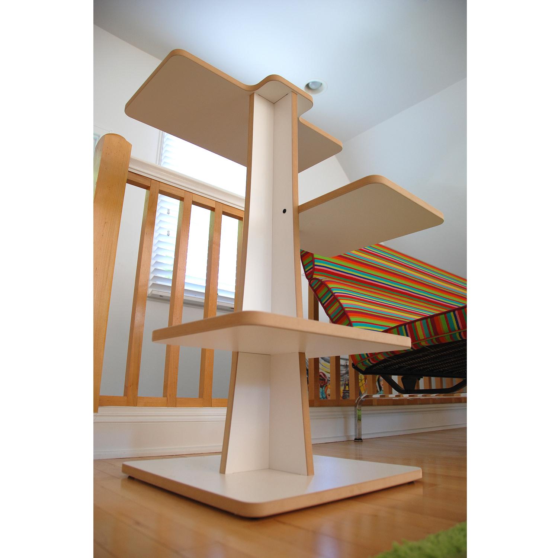 stylish cat furniture. Acacia: Modern Cat Tree Stylish Furniture .