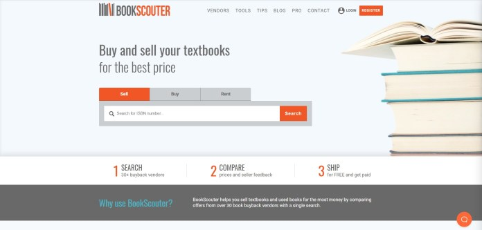 bookscouter search textbooks for free
