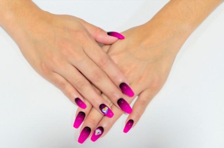 coffin nail design