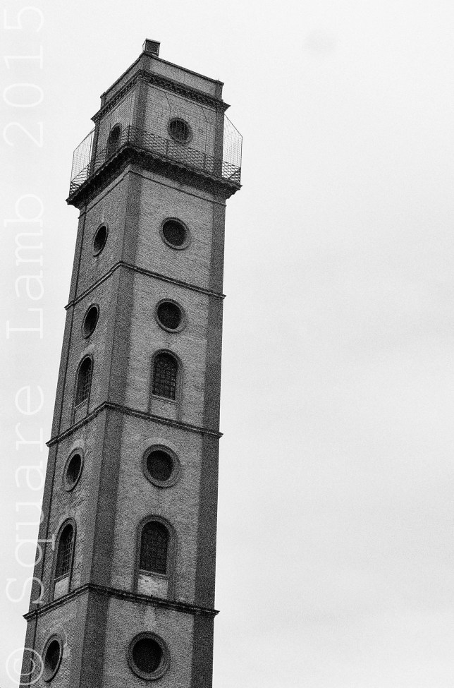 Old tower situated in the Macarena neighbourhood of the city,