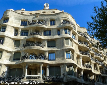 La Pedrera, one of the houses designed by Anton Gaudí