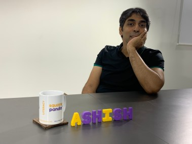Square Panda India MD Ashish Jhalani, in a rare moment of brevity during his interview